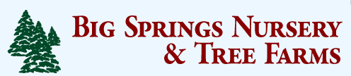 Big Springs Nursery & Tree Farms, Inc. Logo